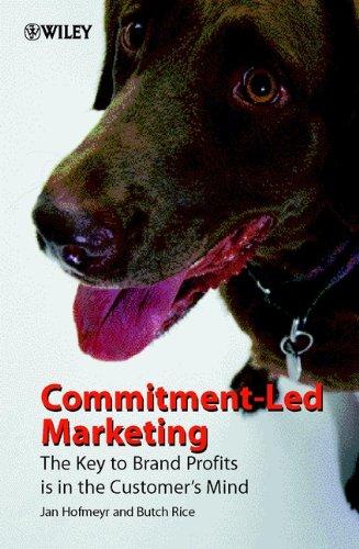 Commitment-Led Marketing By Jan Hofmeyr