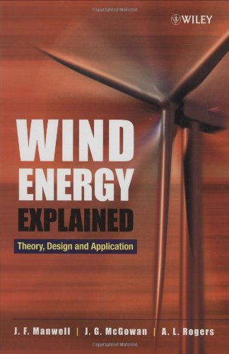 Wind Energy Explained By James F. Manwell