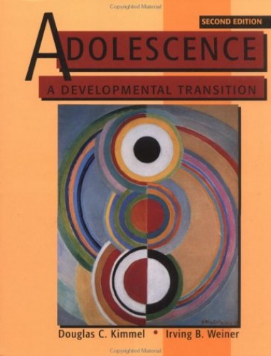 Adolescence By Douglas C. Kimmel