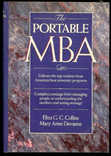 The Portable MBA By Eliza G.C. Collins