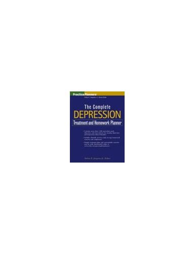 The Complete Depression Treatment and Homework Planner By Arthur E. Jongsma, Jr.