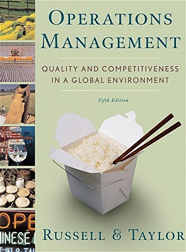 Operations Management By Roberta S. Russell