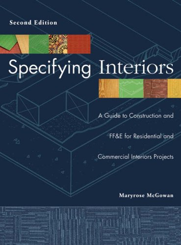 Specifying Interiors By Maryrose McGowan