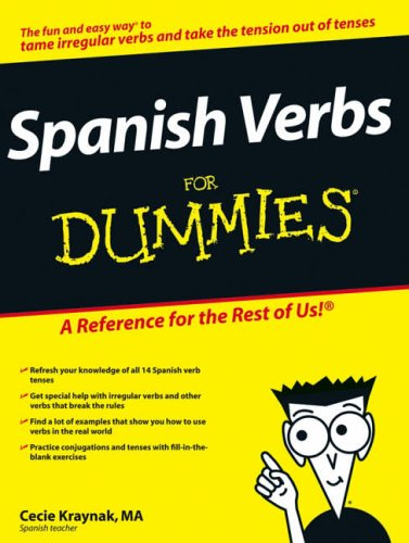 Spanish Verbs For Dummies By Cecie Kraynak