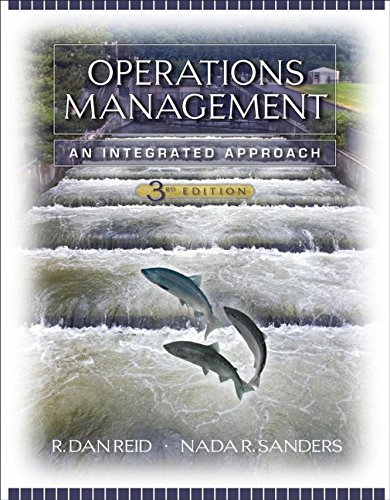 Operations Management By R. Dan Reid