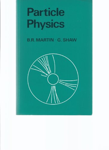 Particle Physics By Brian Martin
