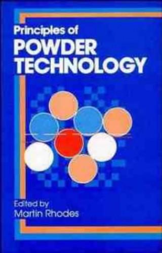 Principles of Powder Technology By M. J. Rhodes