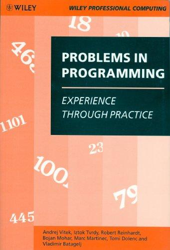 Problems in Programming By Andrej Vitek
