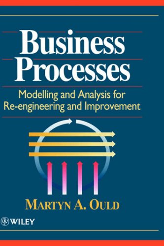 Business Processes By Martyn A. Ould