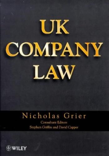 UK Company Law By Nicholas Grier