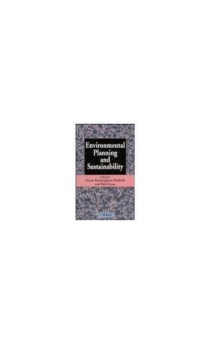 Environmental Planning and Sustainability By Susan Buckingham Hatfield