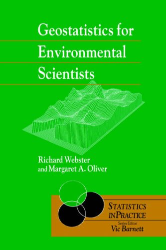 Geostatistics for Environmental Scientists By Richard Webster