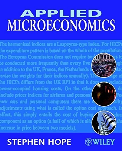Applied Microeconomics By S. Hope