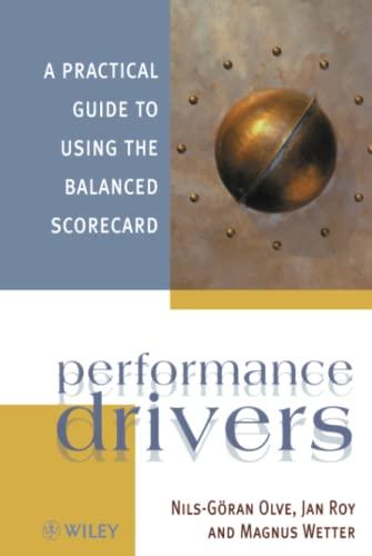 Performance Drivers By Nils-Goeran Olve