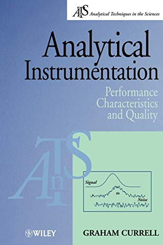 Analytical Instrumentation By Graham Currell