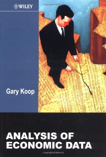 Analysis of Economic Data By Gary Koop