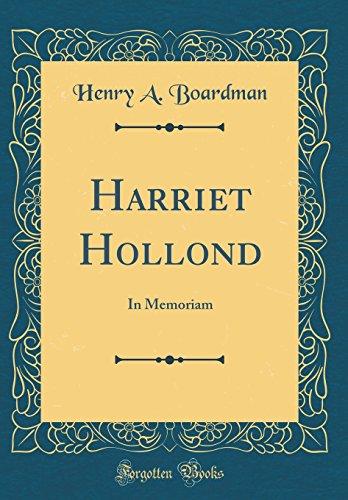 Harriet Hollond von Henry a Boardman