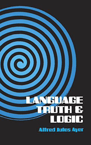 Language, Truth and Logic (Dover Books on Western Philosophy) By A. J. Ayer