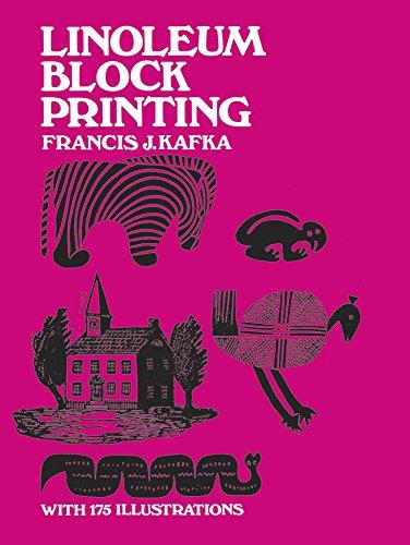 Linoleum Block Printing by Francis J. Kafka