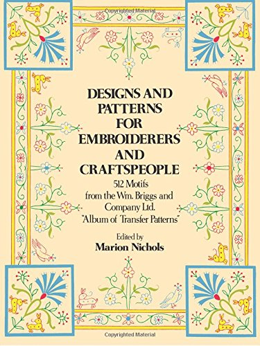 Designs and Patterns for Embroiderers and Craftsmen By Briggs William & Co. Ltd.