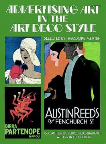 Advertising Art in the Art Deco Style By Theodore Menten