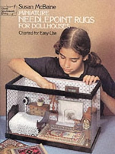 Miniature Needlepoint Rugs for Dolls Houses By Susan McBaine