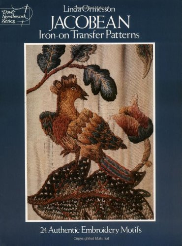 Jacobean Iron-on Transfer Patterns By Linda Ormesson