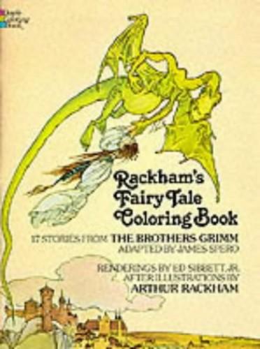 Rackham's Fairy Tale Colouring Book By Arthur Rackham