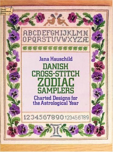 Danish Cross-stitch Zodiac Samplers By Jana Hauschild
