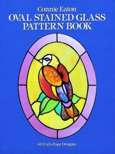 Oval Stained Glass Pattern Book By Connie Clough Eaton