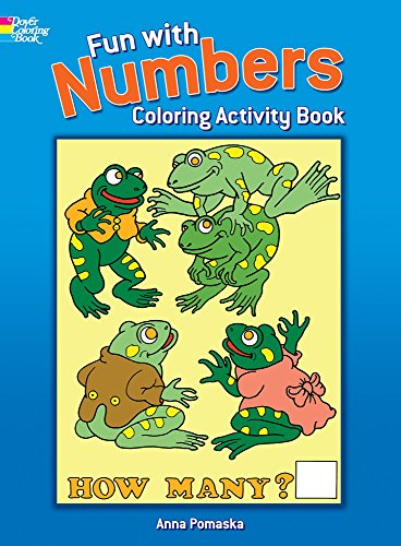 Fun with Numbers Coloring Book By Anna Pomaska
