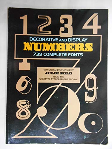 Decorative and Display Numbers By Julie Solo