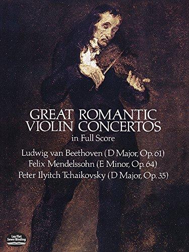 Great Romantic Violin Concertos By Ludwig Van Beethoven