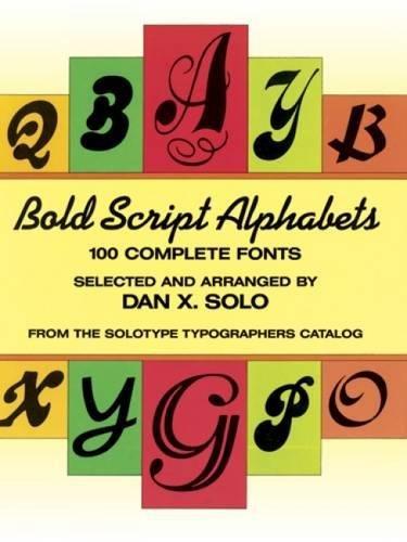 Bold Script Alphabets By Dan X. Solo