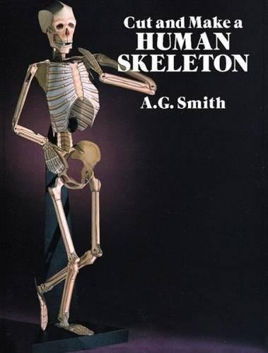 Cut and Make a Human Skeleton By Albert G. Smith