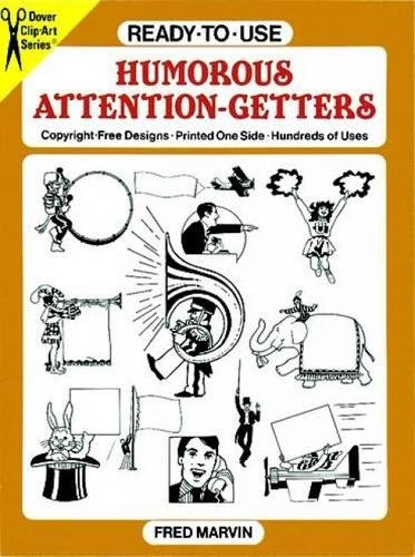 Ready-to-Use Humorous Attention-Getters (Dover Clip Art R... by Marvin, Fred Kit