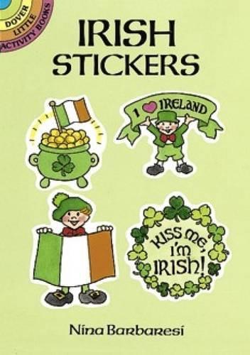 Irish Stickers By Nina Barbaresi