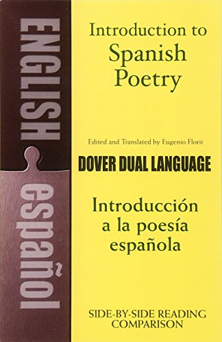 Introduction to Spanish Poetry By Edited by Eugenio Florit