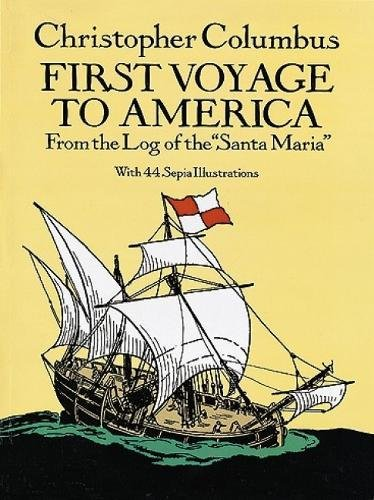 First-Voyage-to-America-From-the-Log-of-th-by-Columbus-Christophe-Paperback