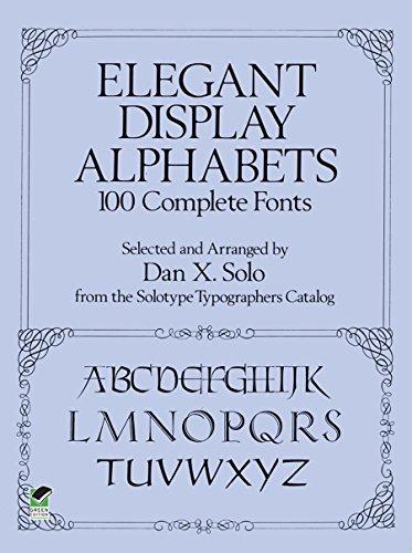 Elegant Display Alphabets By Dan X. Solo