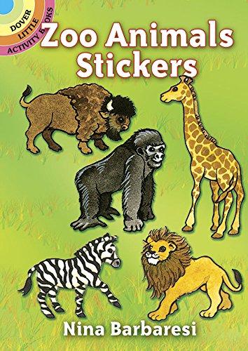 Zoo Animals Stickers By Nina Barbaresi