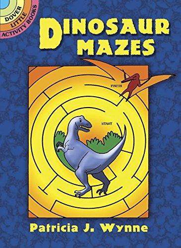 Dinosaur Mazes By Patricia J. Wynne