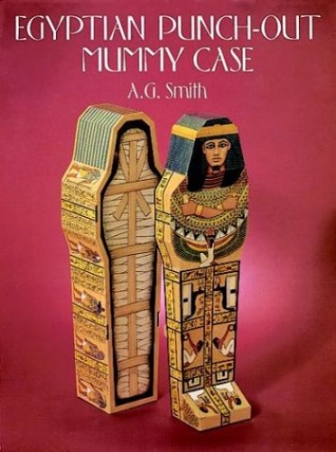 Egyptian Punch-out Mummy Case By Albert G. Smith