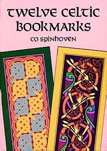 Twelve Celtic Bookmarks By Co Spinhoven