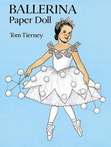 Ballerina Paper Doll By Tom Tierney