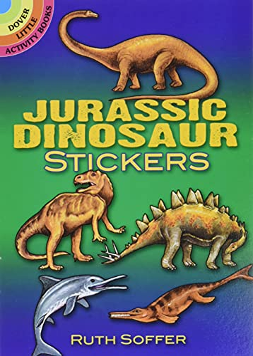 Jurassic Dinosaur Stickers By Ruth Soffer