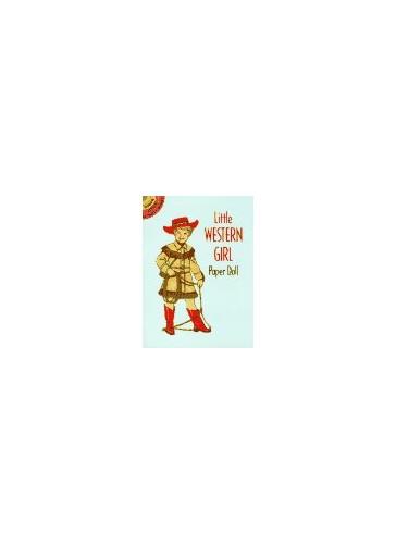 Little Western Girl Paper Doll By Tom Tierney