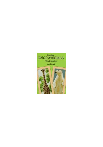 Twelve Wild Animal Bookmarks von Jan Sovak