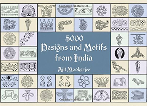 5000 Designs and Motifs from India By Ajit Mookerjee