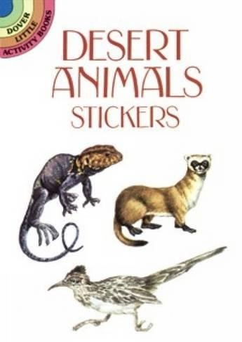 Desert Animals Stickers By Petruccio